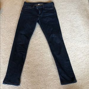Banana Republic Blue Skinny Jeans